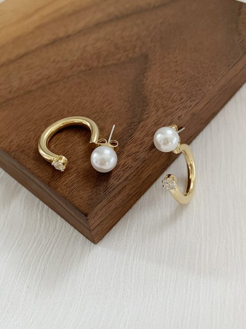 PEARL STUD U PIERCE