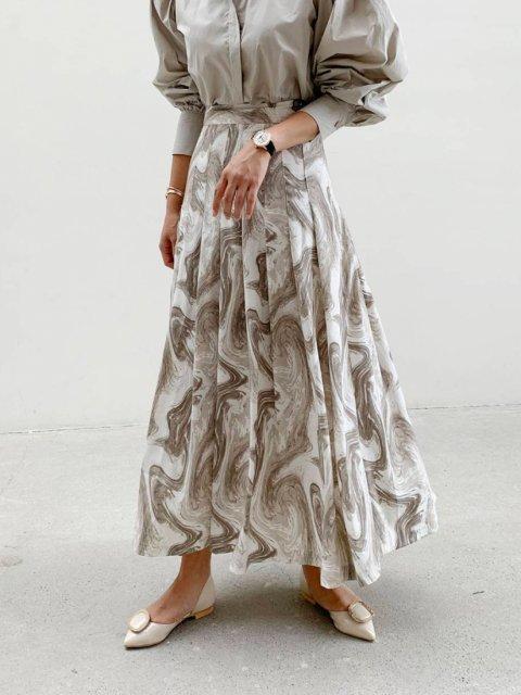 KR パターン ロングスカート