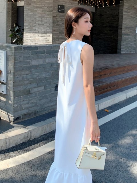 Charlotte Ribbon dress '21
