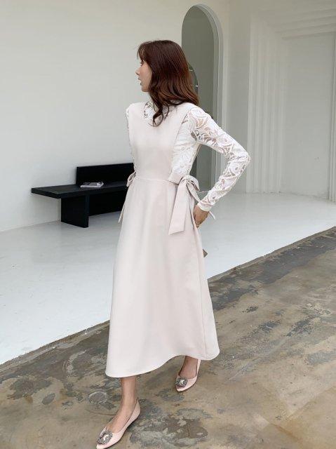 ダブルリボン ジャンパースカート