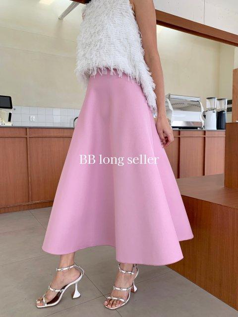 Aラインボンディングスカート LONG