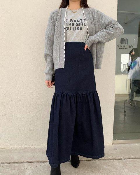 BB レディデニムスカート