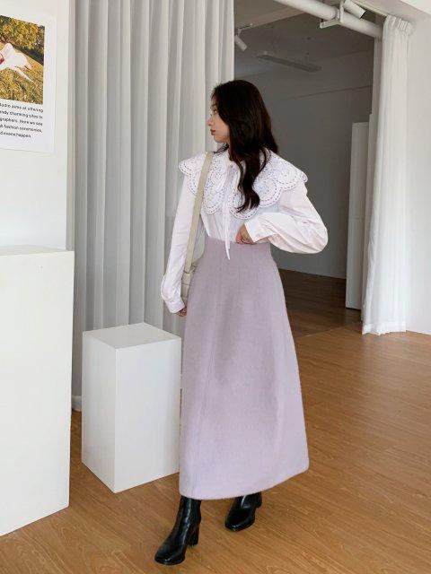 WOOL フレア スカート