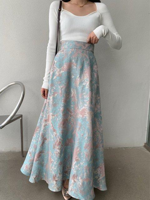 クラシカル ロング スカート