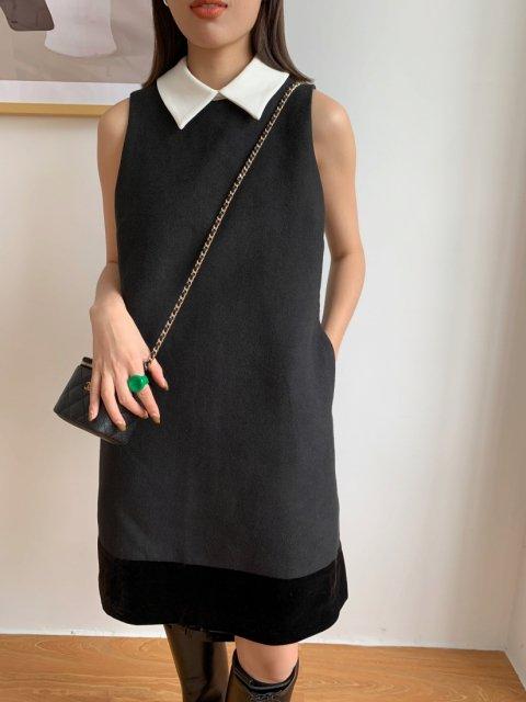Mona BLACK MINI DRESS