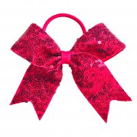 Gym Fine Bow No.5 Hot Pink