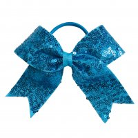 Gym Fine Bow No.9 Ocean Blue