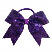 Gym Fine Bow No.11 Purple