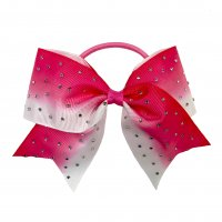 Gym Fine Bow No.31 Pink & White