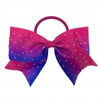 Gym Fine Bow No.40 Pink & Purple & Blue