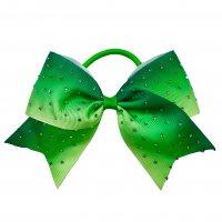 Gym Fine Bow No.46 Green & Light Green
