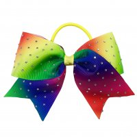 Gym Fine Bow No.59 Rainbow