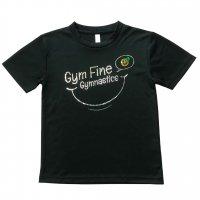 Gym Fine ドライTシャツ Smile ブラック