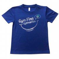 Gym Fine ドライTシャツ Smile ジャパンブルー