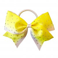 Gym Fine Bow No.35 Yellow & White