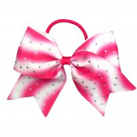Gym Fine Bow No.24 Pink & White
