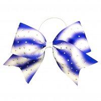 Gym Fine Bow No.26 Blue & White