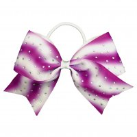 Gym Fine Bow No.27 Purple & White<img class='new_mark_img2' src='//img.shop-pro.jp/img/new/icons6.gif' style='border:none;display:inline;margin:0px;padding:0px;width:auto;' />