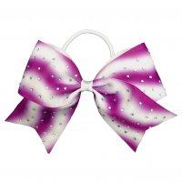 Gym Fine Bow No.27 Purple & White