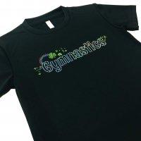 Gym Fine ドライTシャツ Clover ブラック