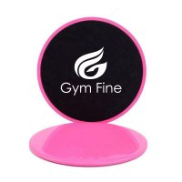 Gym Fine Core Sliders スライダー Pink