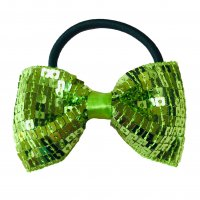 Gym Fine Bow No.5 Lime Green