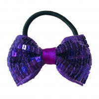 Gym Fine Bow No.17 Purple