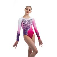BOND LONG SLEEVED LEOTARD PURPLE<img class='new_mark_img2' src='https://img.shop-pro.jp/img/new/icons6.gif' style='border:none;display:inline;margin:0px;padding:0px;width:auto;' />