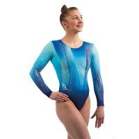 CONFIDENT LONG SLEEVED LEOTARD BLUE<img class='new_mark_img2' src='https://img.shop-pro.jp/img/new/icons6.gif' style='border:none;display:inline;margin:0px;padding:0px;width:auto;' />