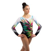 SALUTE LONG SLEEVED LEOTARD<img class='new_mark_img2' src='https://img.shop-pro.jp/img/new/icons6.gif' style='border:none;display:inline;margin:0px;padding:0px;width:auto;' />