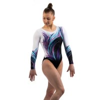 SHINE LONG SLEEVED LEOTARD PURPLE<img class='new_mark_img2' src='https://img.shop-pro.jp/img/new/icons6.gif' style='border:none;display:inline;margin:0px;padding:0px;width:auto;' />