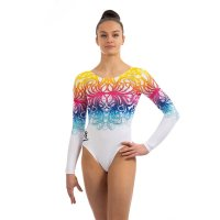 SUNSHINE LONG SLEEVED LEOTARD MULTI<img class='new_mark_img2' src='https://img.shop-pro.jp/img/new/icons6.gif' style='border:none;display:inline;margin:0px;padding:0px;width:auto;' />