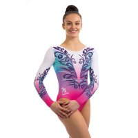 TITANIUM LONG SLEEVED LEOTARD PINK<img class='new_mark_img2' src='https://img.shop-pro.jp/img/new/icons6.gif' style='border:none;display:inline;margin:0px;padding:0px;width:auto;' />