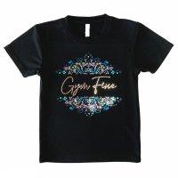 Gym Fine ドライTシャツ Design-2 ブルー