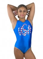 Silver Stars & Stripes Leotard<img class='new_mark_img2' src='https://img.shop-pro.jp/img/new/icons6.gif' style='border:none;display:inline;margin:0px;padding:0px;width:auto;' />