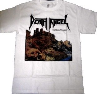DEATH ANGEL「THE ULTRA VIOLENCE-WHITE」Tシャツ<img class='new_mark_img2' src='//img.shop-pro.jp/img/new/icons52.gif' style='border:none;display:inline;margin:0px;padding:0px;width:auto;' />