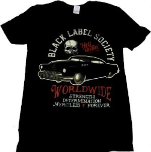 BLACK LABEL SOCIETY「HELL RIDING HOT ROD」Tシャツ<img class='new_mark_img2' src='//img.shop-pro.jp/img/new/icons52.gif' style='border:none;display:inline;margin:0px;padding:0px;width:auto;' />