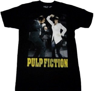 PULP FICTION「DANCE OFF」Tシャツ<img class='new_mark_img2' src='//img.shop-pro.jp/img/new/icons52.gif' style='border:none;display:inline;margin:0px;padding:0px;width:auto;' />