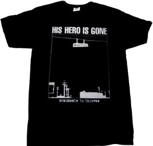 HIS HERO IS GONE「MONUMENTS」Tシャツ<img class='new_mark_img2' src='//img.shop-pro.jp/img/new/icons52.gif' style='border:none;display:inline;margin:0px;padding:0px;width:auto;' />