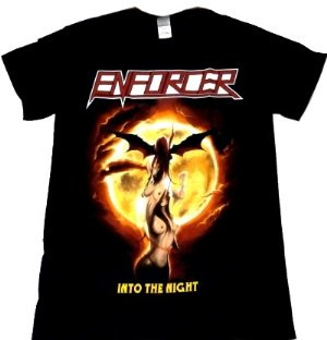ENFORCER「INTO THE NIGHT」Tシャツ<img class='new_mark_img2' src='//img.shop-pro.jp/img/new/icons11.gif' style='border:none;display:inline;margin:0px;padding:0px;width:auto;' />