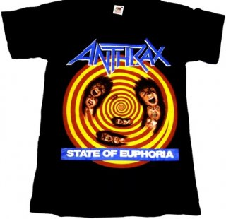 ANTHRAX「STATE OF EUPHORIA」Tシャツ<img class='new_mark_img2' src='//img.shop-pro.jp/img/new/icons52.gif' style='border:none;display:inline;margin:0px;padding:0px;width:auto;' />