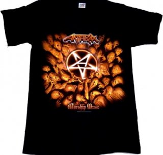 ANTHRAX「WORSHIP MUSIC」Tシャツ<img class='new_mark_img2' src='//img.shop-pro.jp/img/new/icons52.gif' style='border:none;display:inline;margin:0px;padding:0px;width:auto;' />