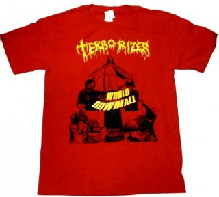 TERRORIZER「WORLD DOWFALL-RED」Tシャツ<img class='new_mark_img2' src='//img.shop-pro.jp/img/new/icons52.gif' style='border:none;display:inline;margin:0px;padding:0px;width:auto;' />