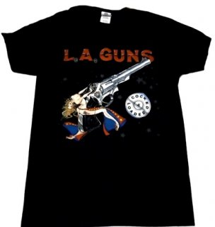 L.A GUNS「COCKED&LOADED」Tシャツ<img class='new_mark_img2' src='//img.shop-pro.jp/img/new/icons52.gif' style='border:none;display:inline;margin:0px;padding:0px;width:auto;' />