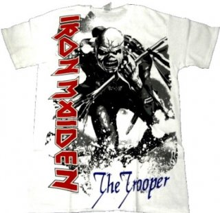 IRON MAIDEN「TROOPER WHITE」Tシャツ<img class='new_mark_img2' src='//img.shop-pro.jp/img/new/icons52.gif' style='border:none;display:inline;margin:0px;padding:0px;width:auto;' />