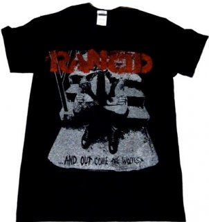 RANCID「OUT COME」Tシャツ<img class='new_mark_img2' src='//img.shop-pro.jp/img/new/icons11.gif' style='border:none;display:inline;margin:0px;padding:0px;width:auto;' />