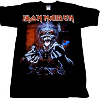 IRON MAIDEN「A REAL DEAD ONE」Tシャツ<img class='new_mark_img2' src='//img.shop-pro.jp/img/new/icons52.gif' style='border:none;display:inline;margin:0px;padding:0px;width:auto;' />