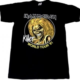 IRON MAIDEN「KILLERS WORLD TOUR」Tシャツ<img class='new_mark_img2' src='//img.shop-pro.jp/img/new/icons52.gif' style='border:none;display:inline;margin:0px;padding:0px;width:auto;' />