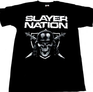 SLAYER「NATION」Tシャツ<img class='new_mark_img2' src='//img.shop-pro.jp/img/new/icons52.gif' style='border:none;display:inline;margin:0px;padding:0px;width:auto;' />