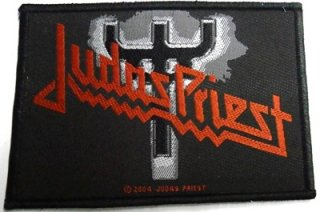 JUDAS PRIEST「LOGO」刺&#32353;布パッチ<img class='new_mark_img2' src='//img.shop-pro.jp/img/new/icons11.gif' style='border:none;display:inline;margin:0px;padding:0px;width:auto;' />